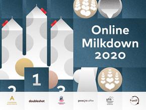 Milkdown2020 - Online soutěž v Latte art