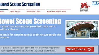 A new customer journey for bowel screening