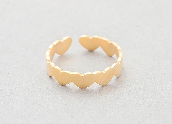 Heart Ring- Gold
