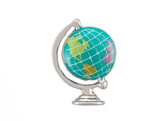 3D Globe Charm