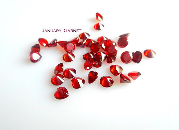 January Birthstone (Garnet) (From €2)
