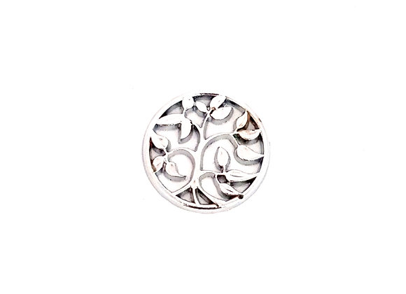 Branching Out Plate- Silver