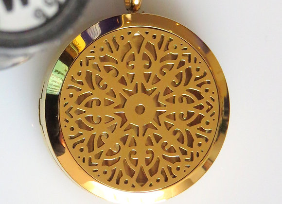 Gold Aromatherapy Locket