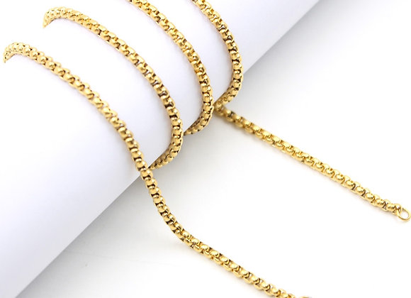 Gold Rolo Chain (From €10)