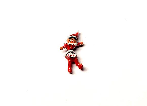 3D Elf on the Shelf Girl Charm