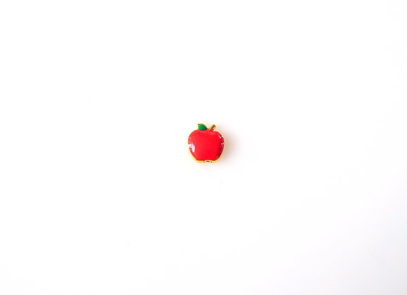 Apple Charm- Red
