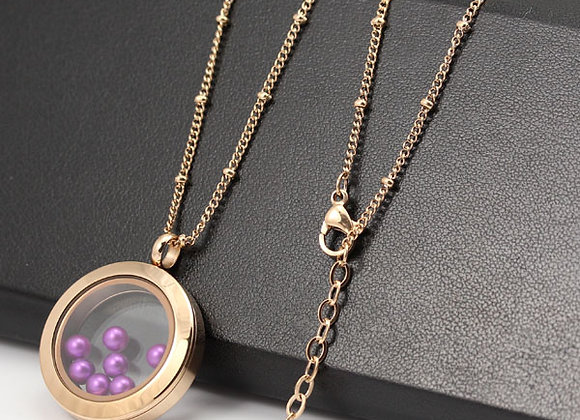 Rose Gold Delicate Beaded Chain (from €10.00)