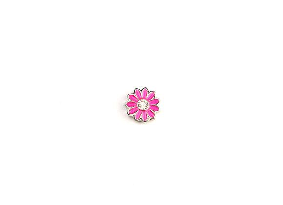 Pink Daisy/Gerbera Flower Charm