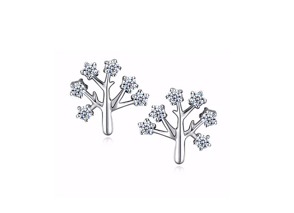 Wish Tree Crystal Earrings