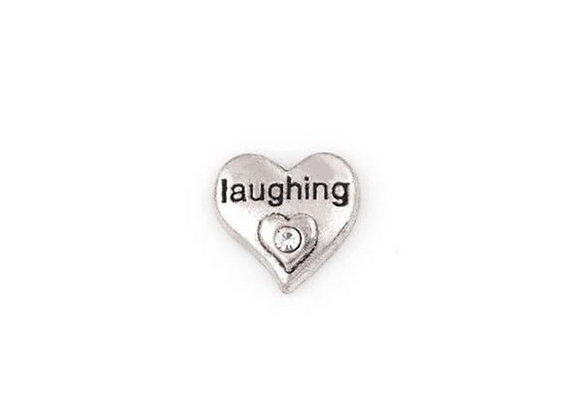 Laughing Heart Charm