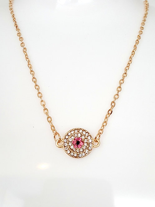 Athens Necklace- Pink/Blue/Green