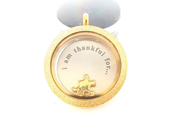 The 'i am thankful for... you' Locket