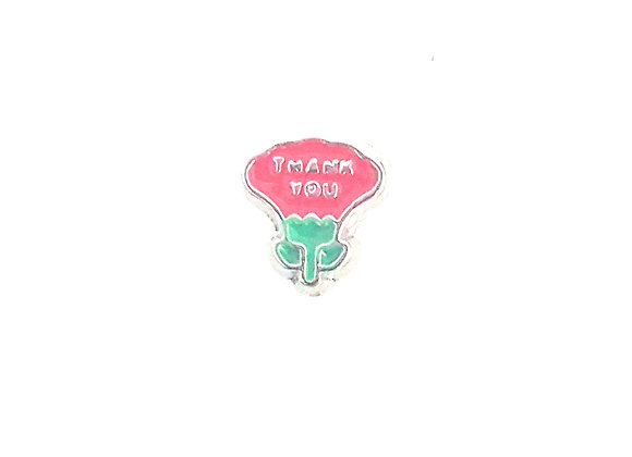 Thank You Flower Charm