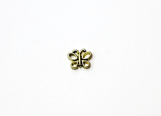 Golden Butterfly Charm