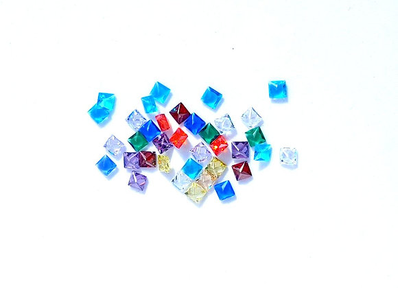 Under the Sea Square Crystal Mix