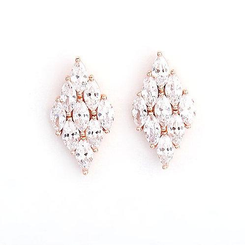 Cassie Crystal Earrings