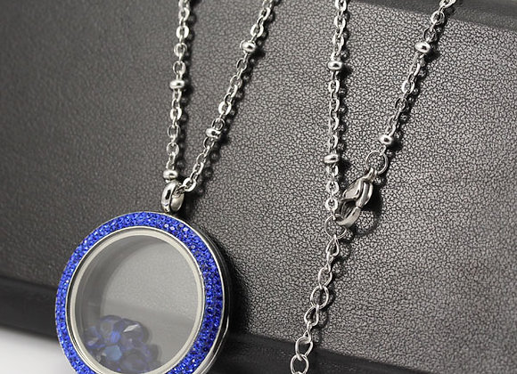 45-80cm Silver Flat Beaded Chain (From €10.00)