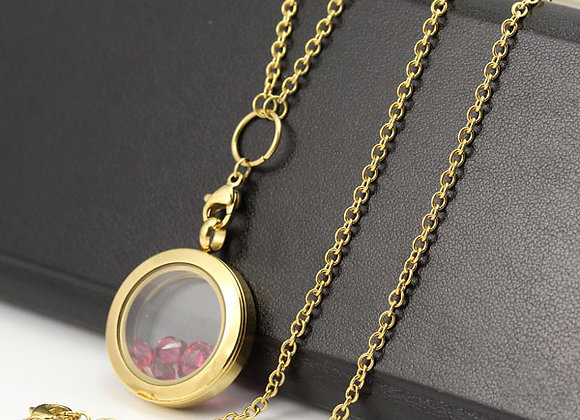 """Gold Classic Oval Link Chain 60cm (24"""")"""