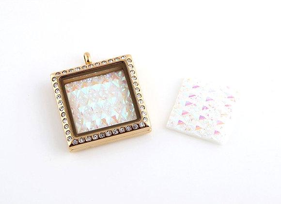 Square Shaped Acrylic Backing Plate