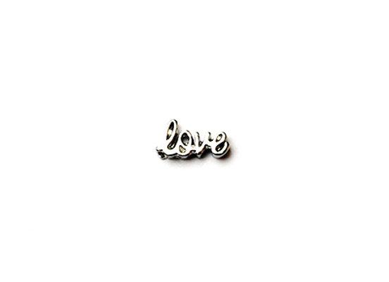 Silver Love Charm