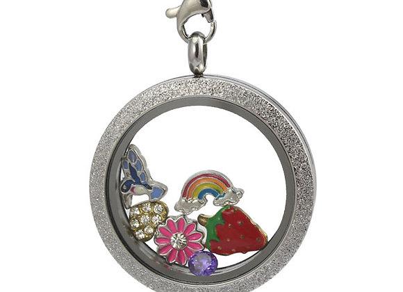 All That Glitters Silver Locket