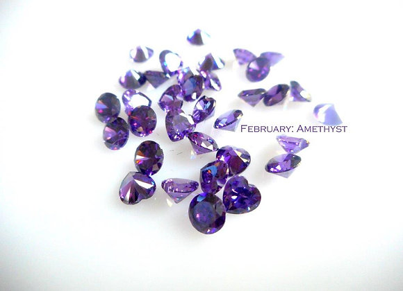 February Birthstone (Ametyst) (From €2)