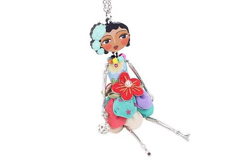 Oriental Doll- Multi