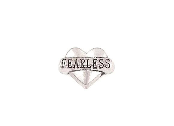 Fearless Heart Charm