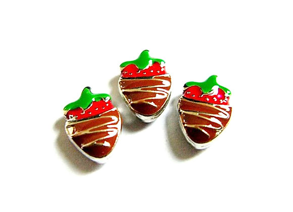Chocolate Covered Strawberry Charm HD