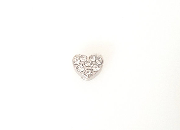 Crystal Heart Charm Mini