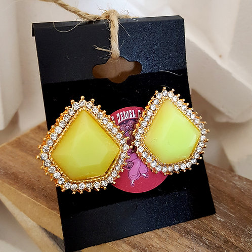 Lou Lou Earrings Lime