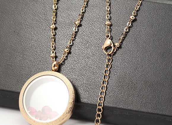 Rose Gold Flat Beaded Chain (From €10.00)