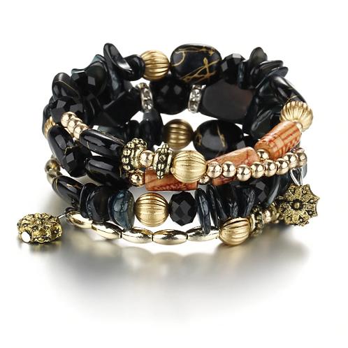 Envy Wrap Bracelet (Black)