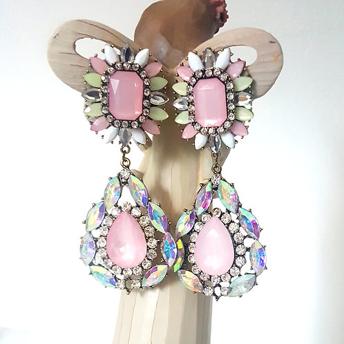 Eden Earrings Pink
