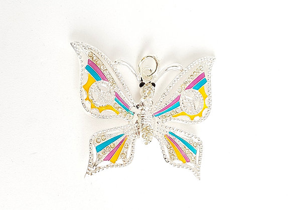 Butterfly Bag Pendant Charm