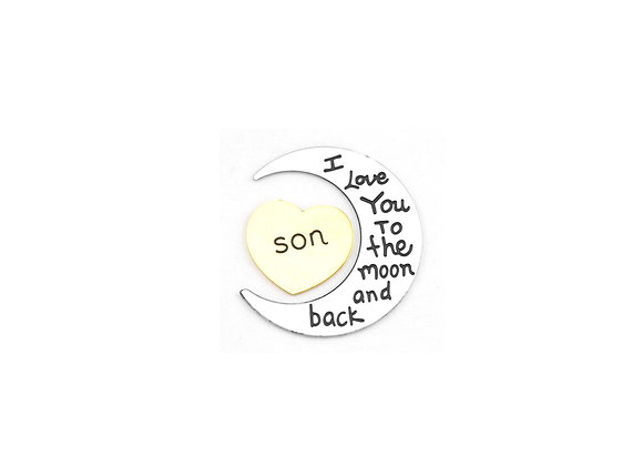 To The Moon and Back Plate- Son