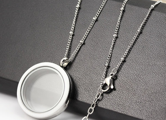 40/60cm Silver Delicate Beaded Chain (from €10.00)