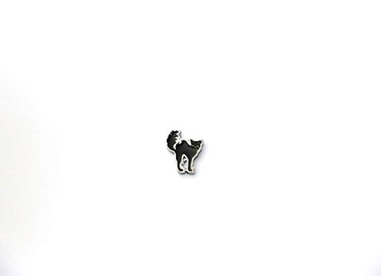 Halloween Black Cat Charm