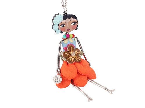 Oriental Doll- Orange