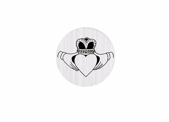 Claddagh Backing Plate- Silver