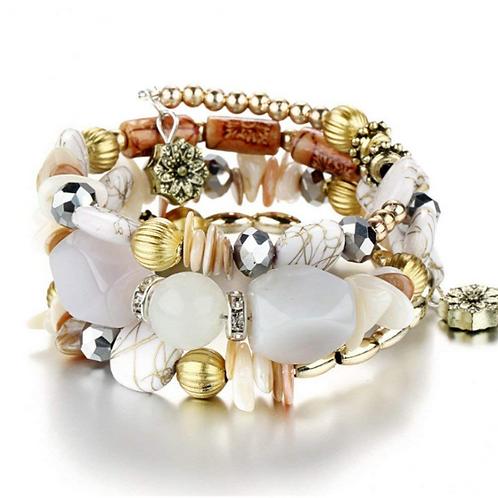 Envy Wrap Bracelet (White)