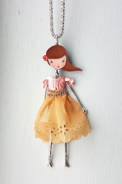 Fashionista Doll- Brown/Blush