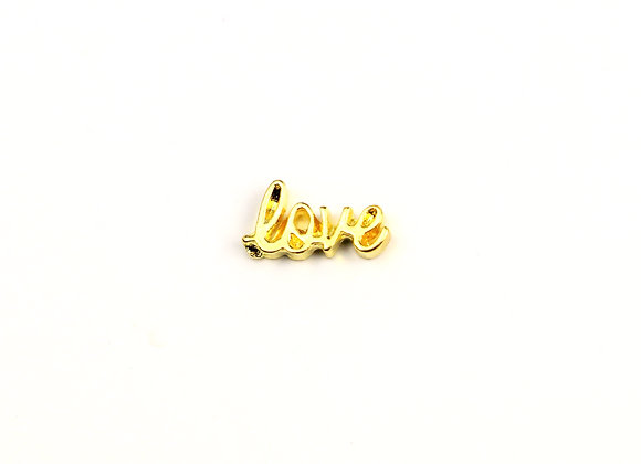 Golden Love Charm