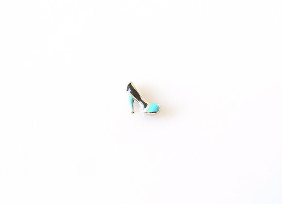Black & Blue Heels