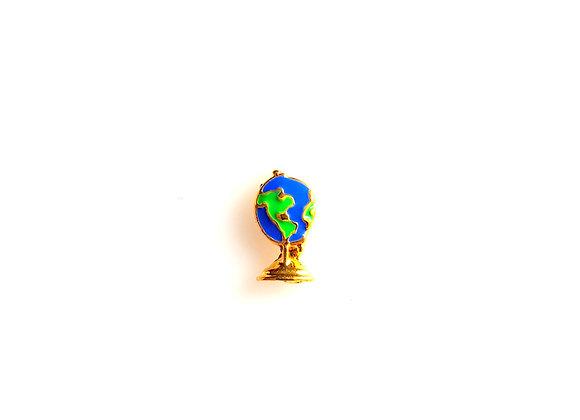 Globe of the World Charm