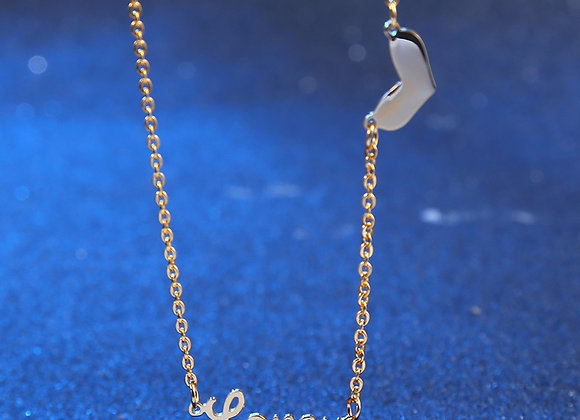 LoveU Necklace Gold