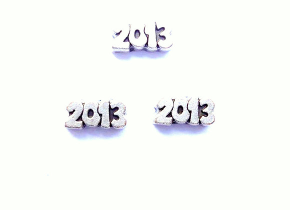 2013 Charm in Silver