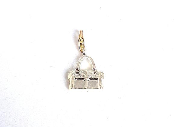Silver Handbag Charm