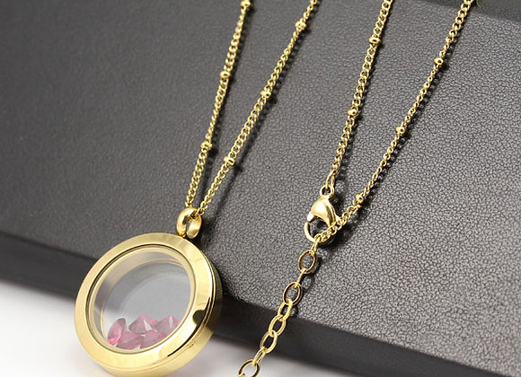 45/60cm Gold Delicate Beaded Chain (from €10.00)
