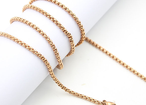 Rose Gold Rolo Chain (From €11)